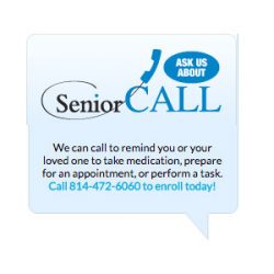 SeniorCALL is one of the benefits of the LIFE program.