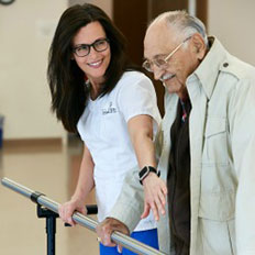 Senior LIFE care plans may include rehabilitation therapy.