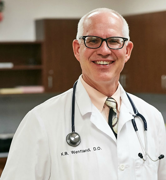 Dr. Barry Wentland is the primary care physician at Senior LIFE Harrisburg and Senior LIFE York.