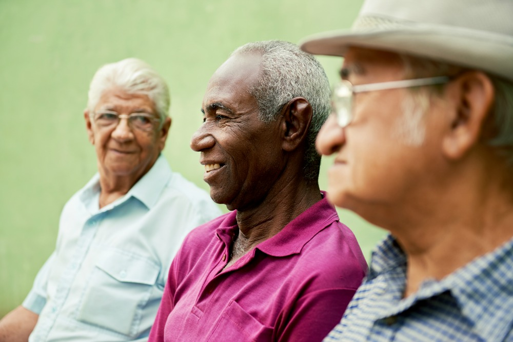 Socialization plays a key role in quality of life for seniors.