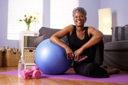 Learn ways of staying active when the weather outside is frightful.